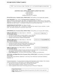 Titles For Resume Examples And Great