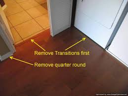 Laminate Floor Transitions Doorway by Home Tips Baseboard For Laminate Flooring How To Remove