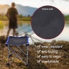 Portable Folding Stool Aluminum Alloy Fishing Chair Outdoor Camping ... Amazoncom Yunhigh Mini Portable Folding Stool Alinum Fishing Outdoor Chair Pnic Bbq Alinium Seat Outad Heavy Duty Camp Holds 330lbs A Fh Camping Leisure Tables Studio Directors World Chairs Lweight Au Dropshipping For Chanodug Oxford Cloth Bpack With Cup And Rod Holder Adults Outside For Two Side Table