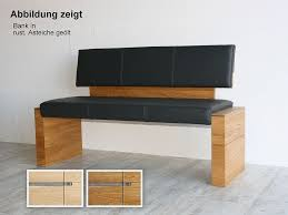 sitzbank 180x82x56cm acerro rustikale asteiche massiv casade mobila