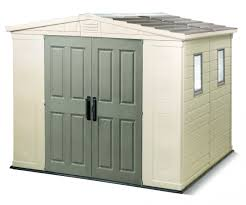 Keter Manor Shed Grey by Decorating 4 X 6 Kketer Shed In Grey And Ivory For Outdoor