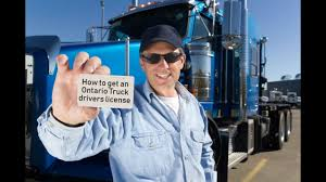 Get A Truck Driver's License In Ontario - GTSJOBS Trucking Jobs ...