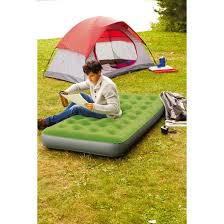 Single High Twin Air Mattress with Pump Embark™ Tar