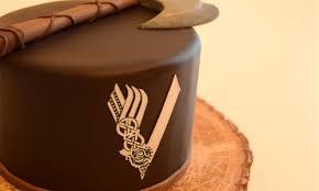 vikings torte für echte männer lorraines das süße leben
