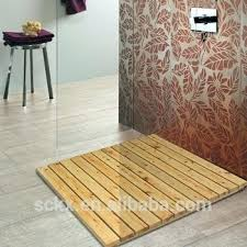 china cheap solid cedar wood slats floor wood bath mat wood bath