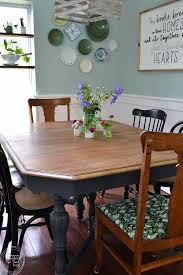 100 Dining Room On A Budget With Mismatched Chairs And Wood Tones 7 Of 9