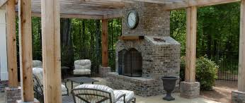 Appealing Bricks Outdoor Kitchen e With Brick Outdoor Kitchen