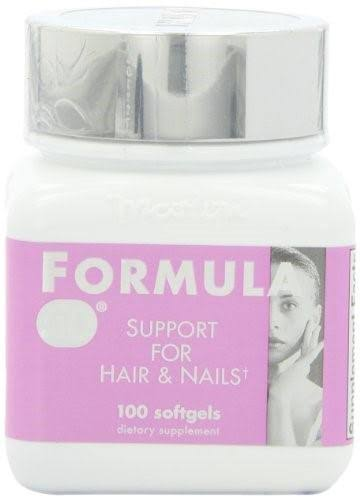 Naturally Vitamins Formula 50 Hair and Nails Support - 100 Count