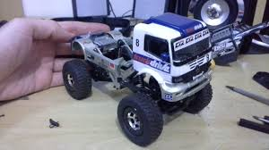 Losi 1/24 Micro Rock Crawler MERCEDES ATEGO Truck Trial | 1/24 Scale ...