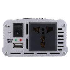 100 Truck Power Inverter DC 12V To AC 110V 1200W Car Charger Converter