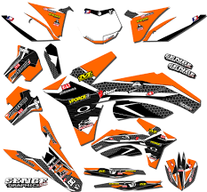 kit deco 125 sx 2004 2003 2004 ktm sx 125 200 250 450 525 graphics kit deco decals moto
