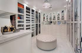 Perfume Tray Closet Contemporary With Mirror Backsplash White Countertop