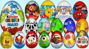 130 Best Winne The Pooh by 130 Surprise Eggs Kinder Surprise Peppa Pig Minions маша и