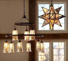 oversized morovian star pendant pottery barn