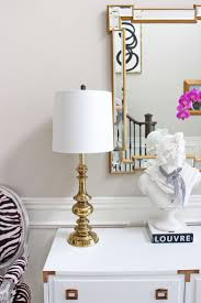 Brass Candlestick Buffet Lamps by Best 25 Brass Lamp Ideas On Pinterest Bedroom Lamps Lamp