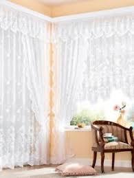 moderne gardinen vorhänge aus voile fürs schlafzimmer