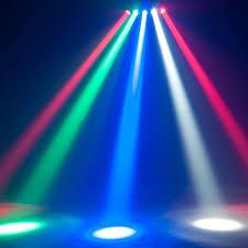 American DJ Penta Pix 5x15w RGBW LED 5 Head Beam Effect Light