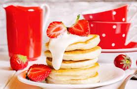 Krusteaz Pumpkin Spice Pancakes by Krusteaz Buttermilk Pancake Mix Recipes Sparkrecipes