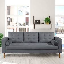 205x92x80 wohnzimmer sofa in grau birke vanabesa