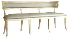 Dining Table Benches With Backs Upholstered Room Bench Back