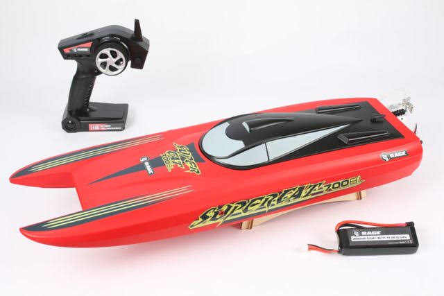 Rage RC RGRB1207 Super Cat 700BL Brushless RTR Catamaran Boat