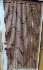 Beaded Curtains For Doorways Ebay by Bamboo Beaded Curtain Home U0026 Garden Ebay