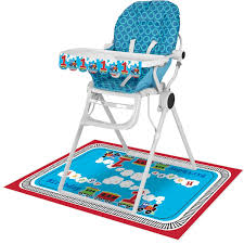 Pack Of 6 Vibrantly Colored All Aboard Decorative High Chair Kits 13.5