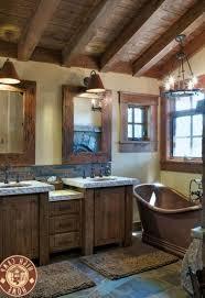 Interior Bathroom Towel Rack Ideas Dark Brown Teak Wood Vanity Two Undermount Sinks And Mirrors