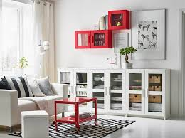 display with some bright pops of colour breathaking living room