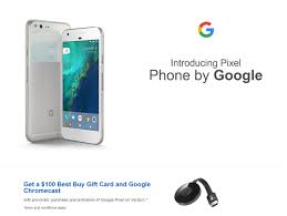 Pixel Smartphones fered with $100 Gift Card at Best Buy