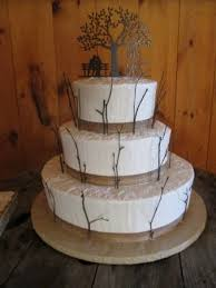 Cakes For All Occasions Rustic Twig Wedding Cake