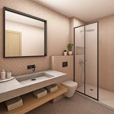 3D Water Cube Motorbike Design Shower Curtain Bathroom