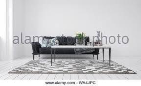 moderne minimalistische grau und weiss wohnzimmer modern