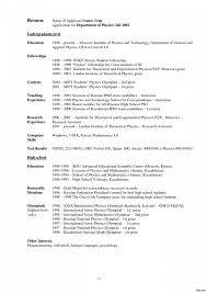 Large Size Of Resume Template Elegant Student Examples High School Example College Graduate