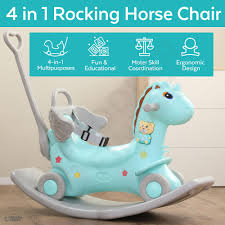 4-in-1 Rocking Horse - Push Glider Pony Rocker Toy - Musical Player Riding  Chair - Ride On Rocking Animal - 1.5x Thicker Safer Durable - Anti-Slip ... Antique Wood Rocking Chairantique Chair Australia Wooden Background Png Download 922 Free Transparent Infant Shing Kids Animal Horses Multi Functional Pink Plush Pony Horse Ride On Toy By Happy Trails Lobbyist Rocker For Architonic Rockin Rider Animated Cheval Bascule Rose Products Baby Decor My Little Pony Rocking Chair Personalized Two Sisters Plust Ponies Prancing Book Caddy Puzzle Set Little Horses Horse Riding Stable Farm Horseback Rknrd305 Home Plastic Horsebaby Suitable 1