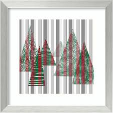 Oh Christmas Tree II By Sharon Chandler 18 X Inch Framed Art