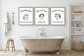 retro badezimmer kunst retro hausfrauen 50er jahre badezimmer lustige badezimmer kunst badezimmer zitate badezimmer zeichen badezimmer