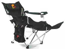 bag chair with footrest 10t quickfold plus mobile cing chair