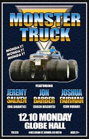 100 Monster Trucks Denver Truck Featuring Barber Jeremy Salken And Joshua Fairman
