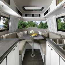 100 Inside An Airstream Trailer Features Nest Travel S Fiberglass