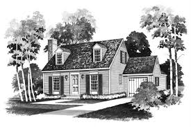 Pictures Small Colonial House by Small Colonial Cape Cod House Plans Home Design Hw 2162 17400