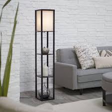 Mainstays Etagere Floor Lamp Shade by Adesso Lighting 3138 01 Wright Etagere Floor Lamp Walmart Com