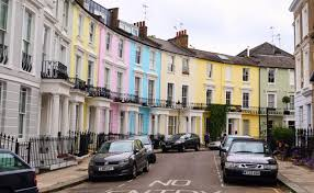 100 Notting Hill Houses The Most Colourful Streets In London