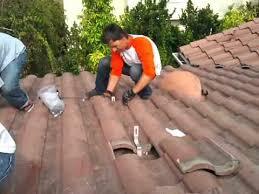 solar racking residential tile hook installation