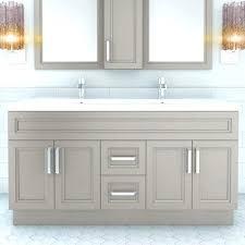 Wayfair Bathroom Storage Cabinets by Double Sink Floating Vanity Bathroom Set Reviews White Gray