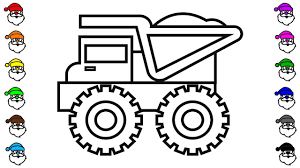 How To Draw Dump Truck Coloring Pages, Construction Truck Video ... Dump Truck Coloring Page Free Printable Coloring Pages Page Wonderful Co 9183 In Of Trucks New Semi Elegant Monster For Kids399451 Superb With Inside Cokingme Pictures For Kids Shelter Lovely Cstruction Vehicles Garbage Toy Transportation Valid Impressive 7 Children 1080
