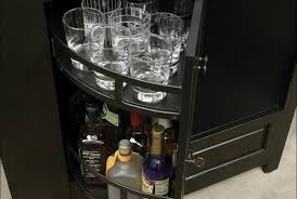 Corner Curio Cabinets Walmart by Bar Built In Bar Cabinets For Home Wooden Mini Bar Mini Bar