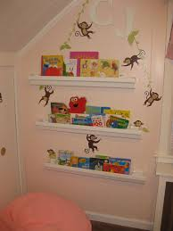 Decoration Kids Bookshelf In Cheerful Design Aesthetic Wall Shelves For Books Consideration Of Selection Astonishing