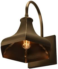 gatsby wall light copper rustic outdoor barn lighting