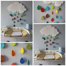 astuce déco chambre bébé décoration murale pour la chambre du bébé astuces bricolage